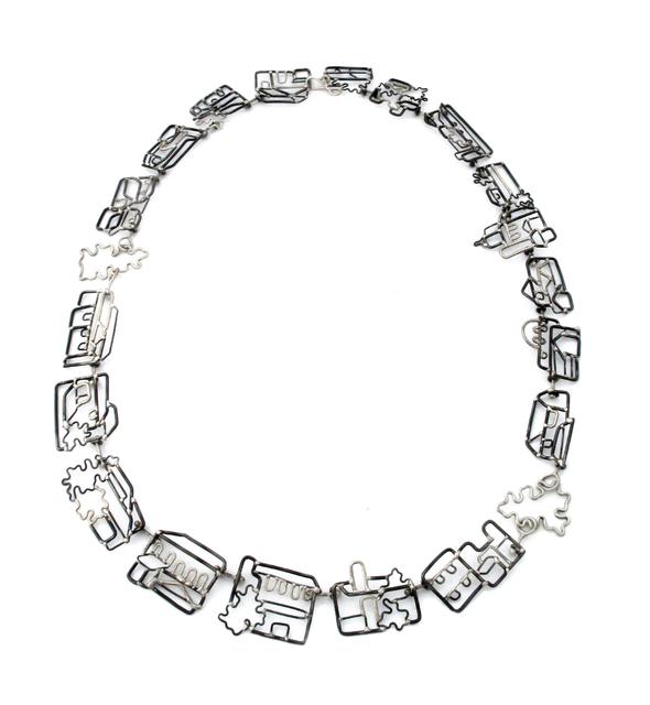 , 'Neighborhood Link Necklace,' , Facèré Jewelry Art Gallery