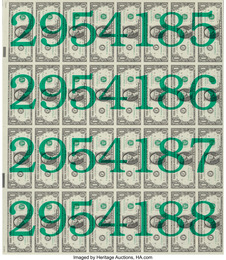 Numbered Money