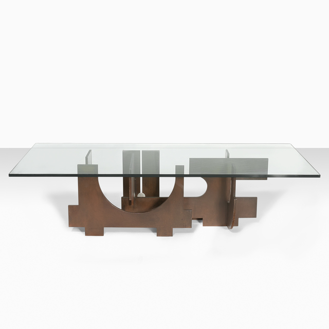 ", 'Coffee table ""Cité Avenir"",' 1960, Galerie Loft"