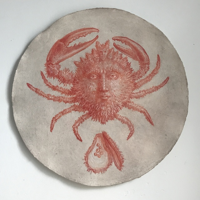 , 'Crabface,' 2018, The Schoolhouse Gallery