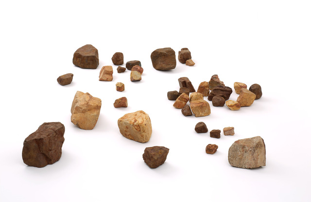 , 'Pedras,' 2011, Quadrado Azul