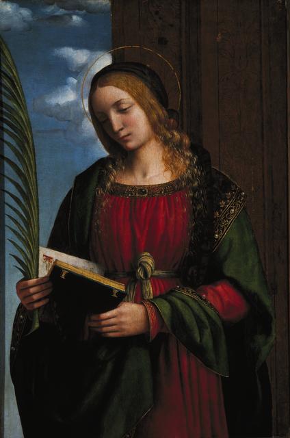 , 'Saint Barbara,' 1510-1512, Museo Soumaya