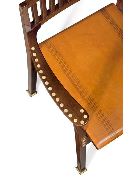, 'Armchair,' ca. 1898-99, Yves Macaux