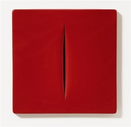 Concetto Spaziale (Rosso)