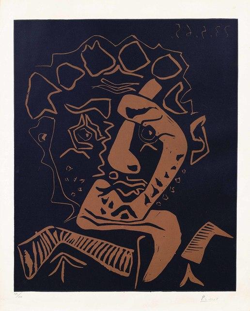 Pablo Picasso, 'Tête d'Histrion (Le Danseur)', 1965, Christie's