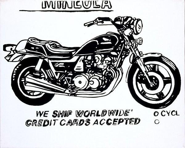 Andy Warhol, 'Mineola Motorcycle', 1985-1986, Joseph K. Levene Fine Art, Ltd.