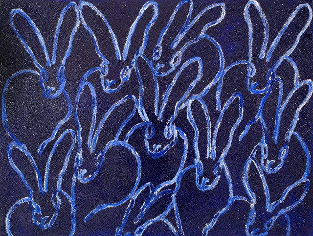 , 'Untitled (Blue Diamond Dust Bunnies) ,' 2017, New Gallery of Modern Art