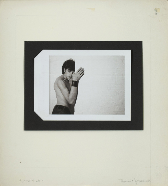 , 'Autoportrait 1,' ca. 1974, Tang Teaching Museum and Art Gallery