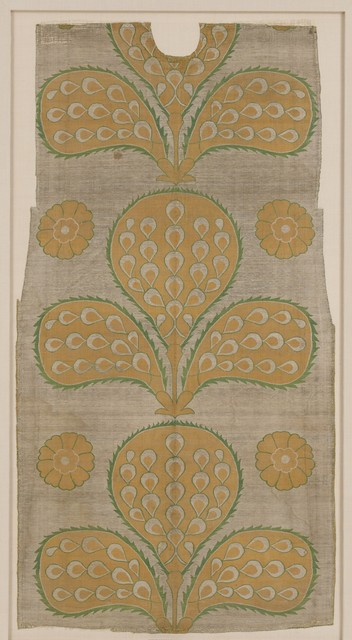 Unknown Designer, 'Fragment of a Kaftan Back', mid-16th century, The Metropolitan Museum of Art
