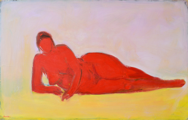 , 'Red Nude,' 1993, Bookstein Projects