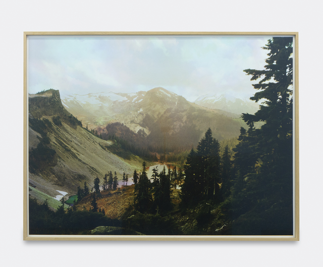 Peter Funch, 'Mt. Baker, Table Mountain and Iceberg Lake from Herman Saddle', 2014, V1 Gallery