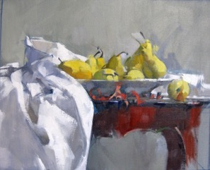 Maggie Siner, 'Yellow Pears', 2018, J. Cacciola Gallery