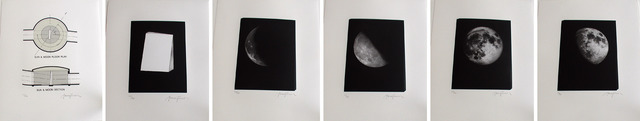 ", 'Image Stone: Moon Side (suite of 6: 18.75"" x 15"" each),' 1999, Lisa Sette Gallery"