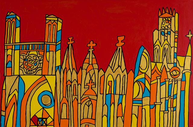 Leland Lee, 'Rouen Church ', 2014, Artrue Gallery