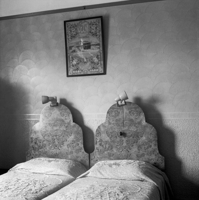 , 'The bedroom of Ozzie and Sarah Docrat before its destruction under the Group Areas Act, Fietas, Johannesburg. 1977,' 1977, Goodman Gallery