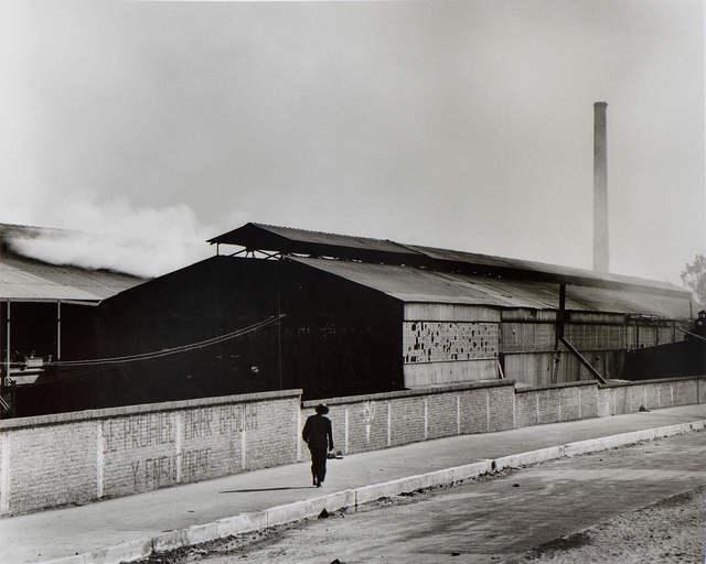 Rodrigo Moya, 'Hombre solitario', 1958, Patricia Conde Galería