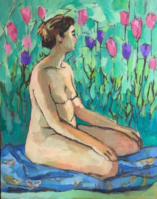 Teresa Baksa, 'Grounded with Tulips', 2008, Miller White Fine Arts