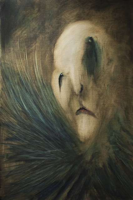 Jody Fallon, 'Pagliacci', 2014, Painting, Oil, Abend Gallery