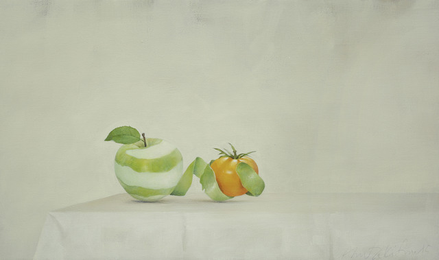 , 'Apple and Yellow Tomato,' 2015, Galerie Huit