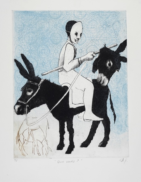 Polly Pickles, 'Quo vadis ? (where are you going?)', Open Bite Printmakers