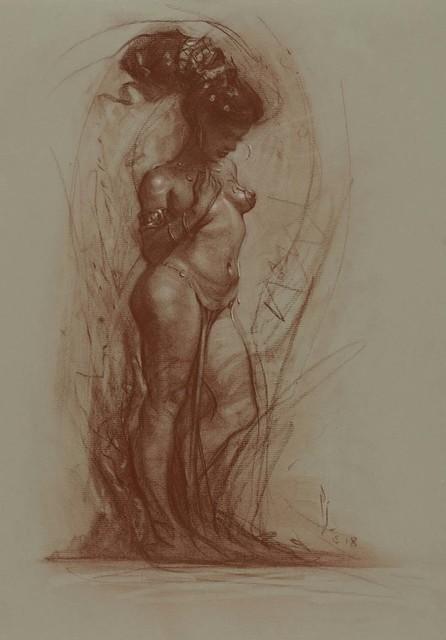 , 'Melancholy,' , IX Gallery