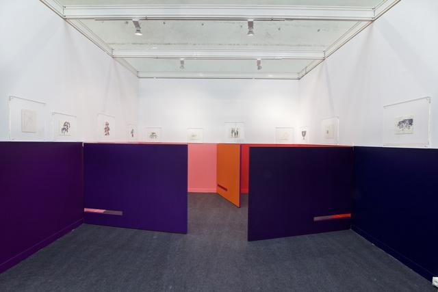 , 'Forward vertical back horizontal,' 2018, 80M2 Livia Benavides