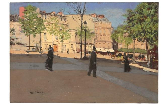Jean Béraud, 'Place ensoleillée', ca. 1890, Gallery 19C
