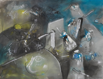 Roberto Matta, 'Untitled,' ca. 1952, Sotheby's: Contemporary Art Day Auction