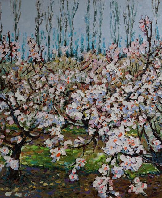 , 'Spring Peach Flower,' 2018, galerie bruno massa