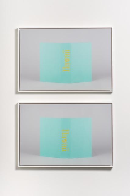 , 'Hawaii (Stack),' 2017, Moskowitz Bayse