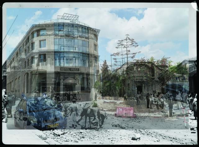 Jack Persekian, 'Digging Jaffa Road 3', 2018, Zawyeh Gallery