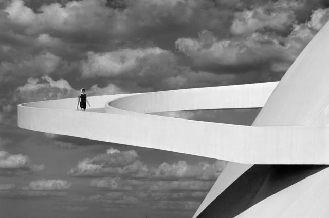 , 'Girl descending a ramp,' 2012, Immagis Fine Art Photography