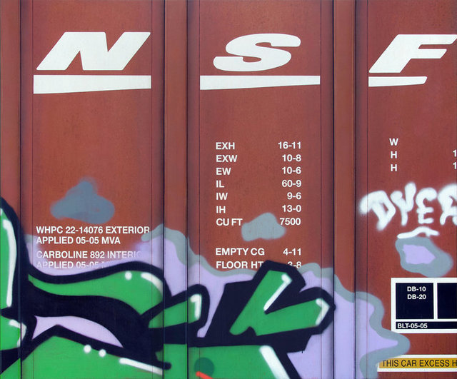 , 'Blank Canvas #89 - BNSF,' 2019, Roman Fine Art