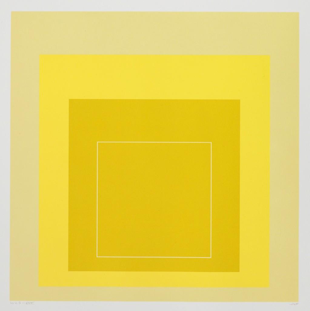 "Josef Albers, ""WLS XVII,"" 1967"