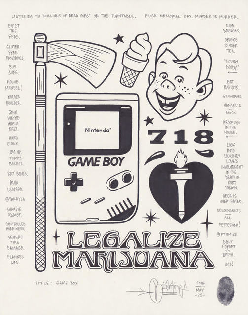 , 'Game Boy,' 2015, Black Book Gallery