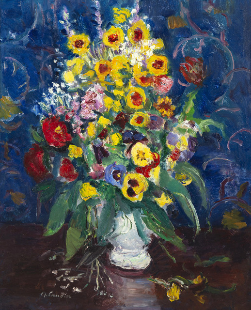 Charles Camoin, 'Fleurs dans un vase blanc', Unknown, HELENE BAILLY GALLERY