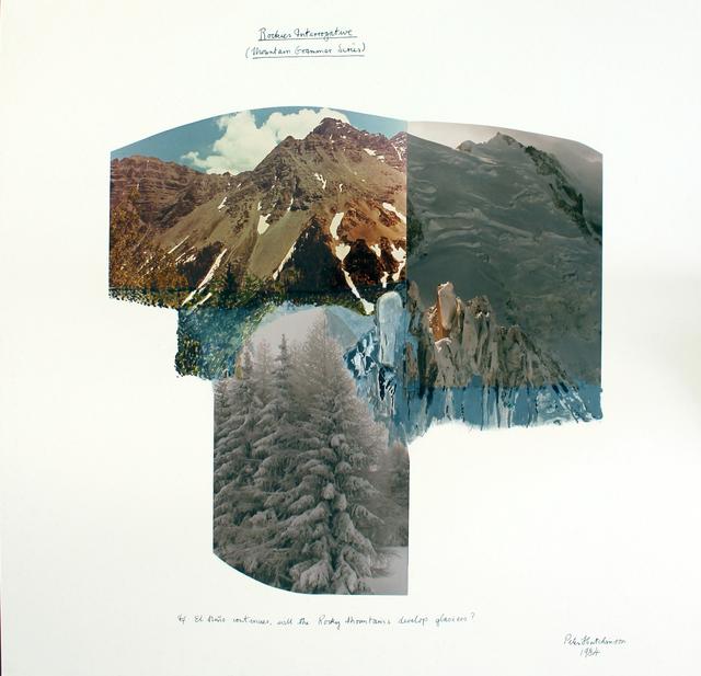 , 'Rockies Interrogative (From the Mountain Grammar Series),' 1984, Gaa Gallery
