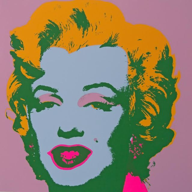 Andy Warhol, 'Marilyn Pink Yellow - Sunday B. Morning (After)', ARTEDIO