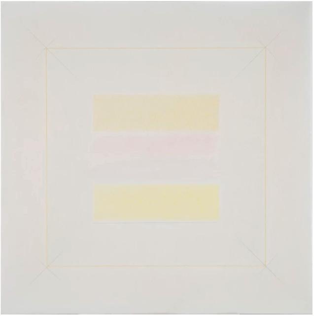, 'Due gialli,' 1972, rosenfeld porcini