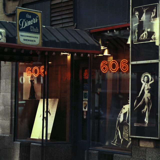 Mario Carnicelli, '606 burlesque club, Chicago', 1966, David Hill Gallery