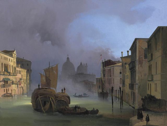 , 'The Grand Canal in Venice with Santa Maria della Salute,' ca. 1842, Antonacci Lapiccirella Fine Art