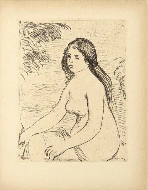 Pierre-Auguste Renoir, 'Femme Nue Assise', 1906, Heather James Fine Art: Benefit Auction 2018