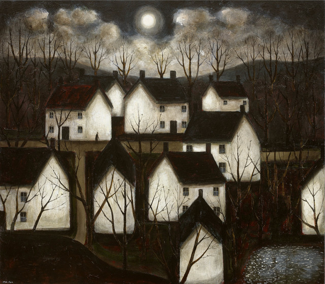 , 'Shady Woods & White Cottages,' 2017, John Martin Gallery