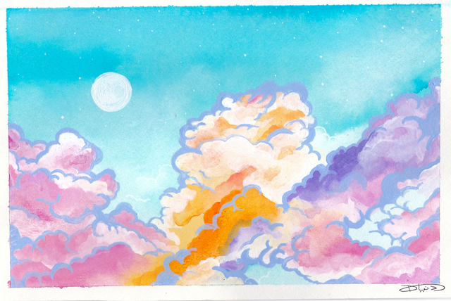 , 'Daydream: Clouds,' 2018, BBAM! Gallery