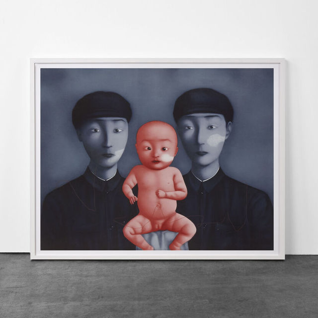 , 'Comrades with Red Baby,' 2009, Artsnap