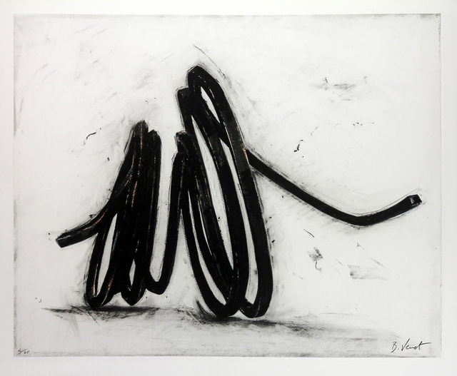Bernar Venet, 'Indeterminate Line I', 2016, Meyerovich Gallery
