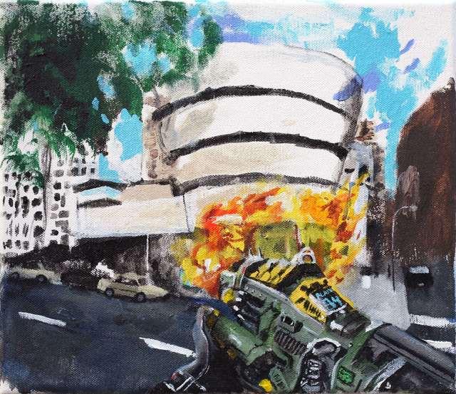 Huey Crowley, 'The new show at the Guggenheim is the bomb', 2015-2019, Tatjana Pieters