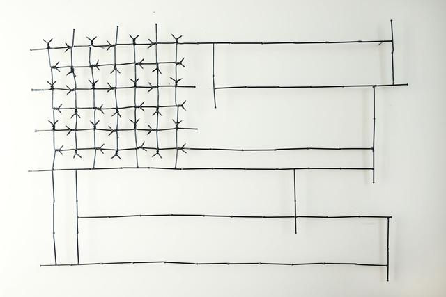 , 'First Brad Flag,' 2017, Sapar Contemporary