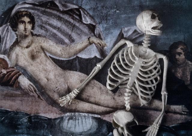 , 'The Final Project [Small skeleton 1],' 1991-1992, Richard Saltoun
