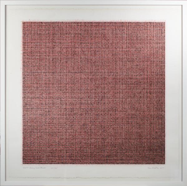, 'Scarlet Red & Ivory Black ,' 2017, David Barnett Gallery